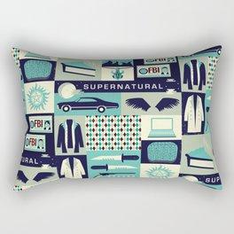 Carry on my wayward son Rectangular Pillow