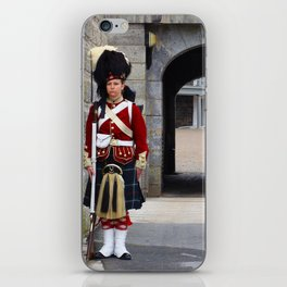 Guard of the Halifax Citadel iPhone Skin