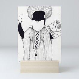 Whaleifred Sanderson Mini Art Print