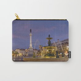 Rossio square at dusk Carry-All Pouch