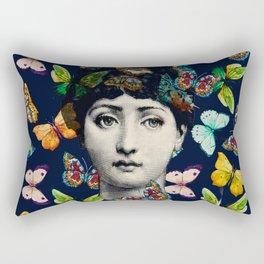 The Butterfly Queen Rectangular Pillow
