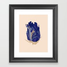 Paper flower 2 Framed Art Print