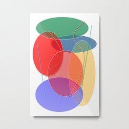 Abstract #27 Metal Print