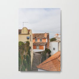Steps - Sintra, Portugal Metal Print