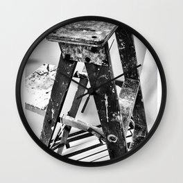 Painter's Ladder Wall Clock