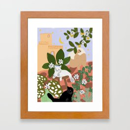 Summer in Paradise Framed Art Print