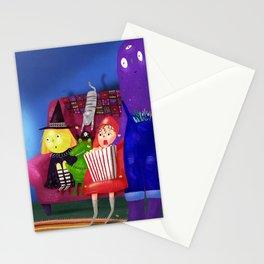 Movie day! Stationery Cards