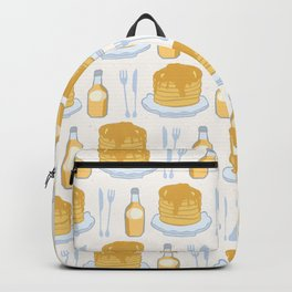 Cute vector pancake day breakfast illustration Backpack