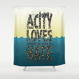 Charleston Strong Shower Curtain