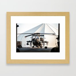 I need to order an AH-64 Apache Longbow Helicopter Framed Art Print