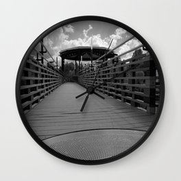 Bridge in Kingsley Falls, #Canada Wall Clock
