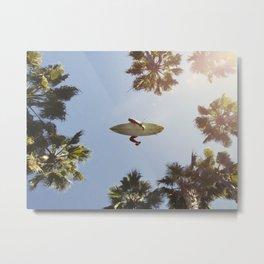 Sky Surfer Metal Print