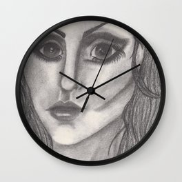 Random Girl Wall Clock