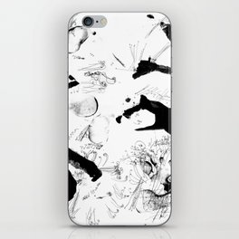 Dance between fate and free will iPhone Skin