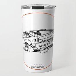 Crazy Car Art 0206 Travel Mug
