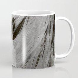 And the light came, Abstract, Black & White Coffee Mug