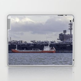 USS George H.W Bush. Laptop & iPad Skin