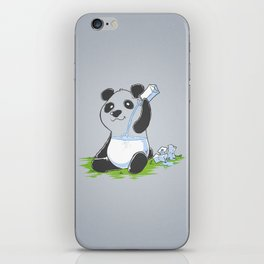 Panda in my FILLings iPhone Skin