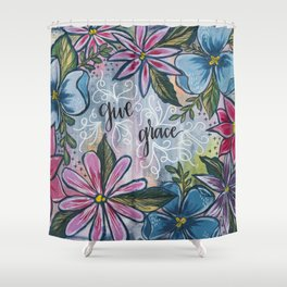 Give Grace Shower Curtain