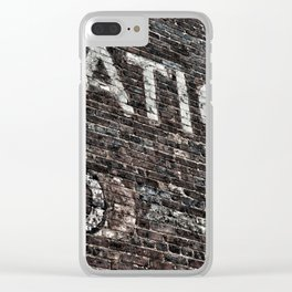 Asheville Coke Series No. 4 Clear iPhone Case