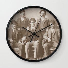 Butch Cassidy - Sundance Kid - Wild Bunch Wall Clock