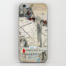 Do Right iPhone & iPod Skin