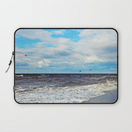 Flying Cormorants Laptop Sleeve