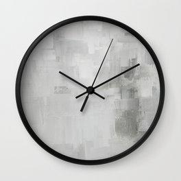 Reclaimed Abstract Expressions Wall Clock