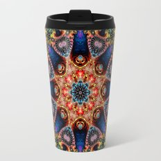 BBQSHOES: Kaleidoscopic Fractal Digital Art Design 1702K Travel Mug