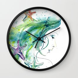 Whispers By The Sea Wall Clock