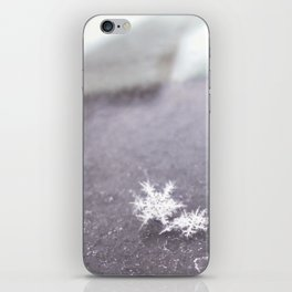 perfect snowflakes iPhone Skin