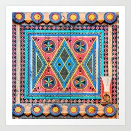 Saudi Colors Art Print