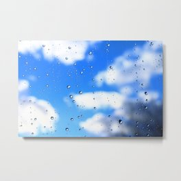 The weather emerges after rain Metal Print