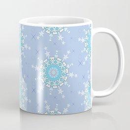 Teddy Bear Mandala Snowflakes Coffee Mug