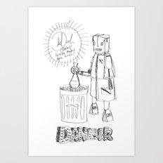 Danger. [SKETCH] Art Print