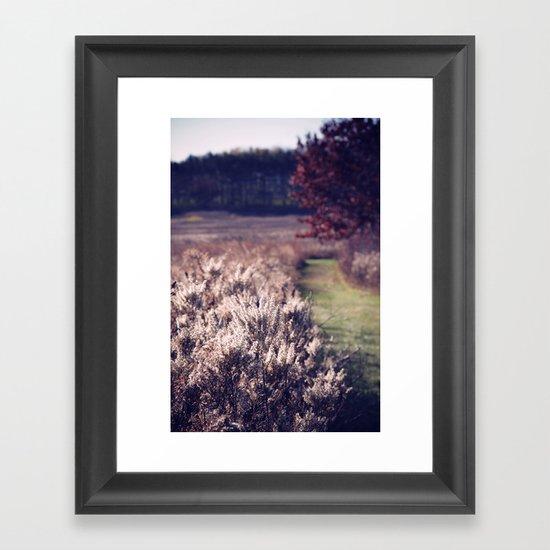 Sentimental Mood Framed Art Print
