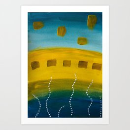 Sea&Sand Art Print