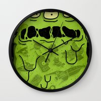 notorious Wall Clocks featuring Notorious HGB by Josh Ln