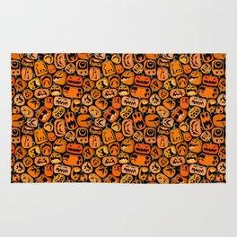Pumpkin Brawl. Rug