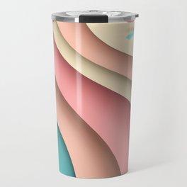 Beach layers Travel Mug
