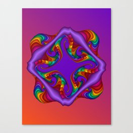 fluid -4- Canvas Print