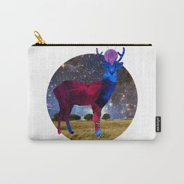 DeerInvasion - Unbelievable Nature Scene 3 Carry-All Pouch