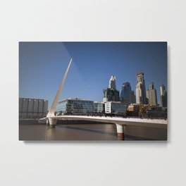 Woman's bridge (Argentina) Metal Print