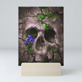 Skull Mountain Mini Art Print