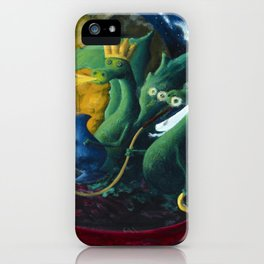 Dragons on a Flying Carpet iPhone Case