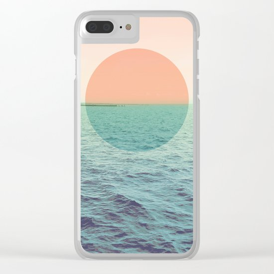 Because the ocean Clear iPhone Case