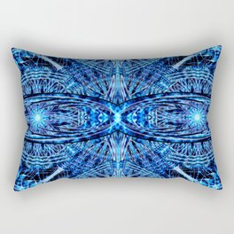 Crystal Dimension Mandala Rectangular Pillow