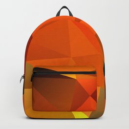 Triangles in Flames Backpack