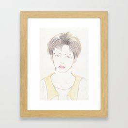 boyish Framed Art Print