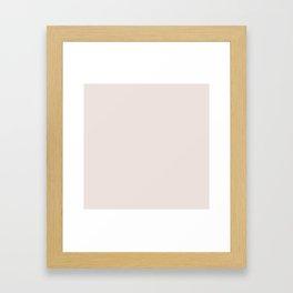Bridal Blush Framed Art Print